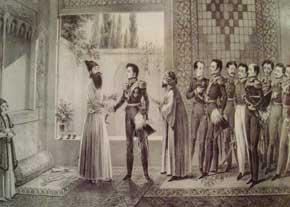 دیدار عباس میرزا با ژنرال یاسكویچ