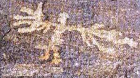 تصویر 40 هزار ساله انسان بالدار در تیمره خمین