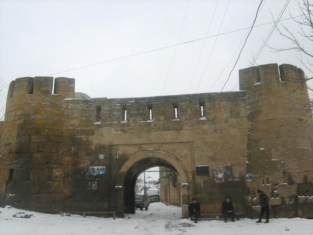 دروازهٔ شهر دربند