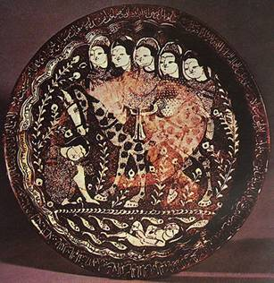 21. کاشان، 607 ه.ق.، فریر گالری واشنگتن (کریمی، 215)