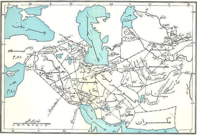 نقشه تاریخی ایرانشهر